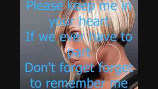 Remember Me TI ft Mary J. Blige  w/ lyrics on screen