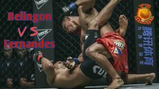 केविन Belingon बनाम बिबियानो फर्नांडीस (पुन: मैच) | पूर्ण लड़ाई