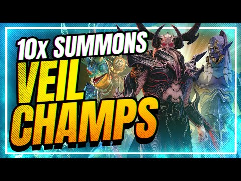 10x THIS WEEKEND! | Veil Champs! | RAID Shadow Legends