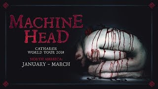 MACHINE HEAD - North America: CATHARSIS World Tour (OFFICIAL TRAILER)