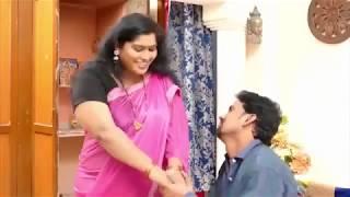 Hot romance with desi aunty width=