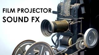 Film Projector Sound Effect | mm Old Film Projector FX