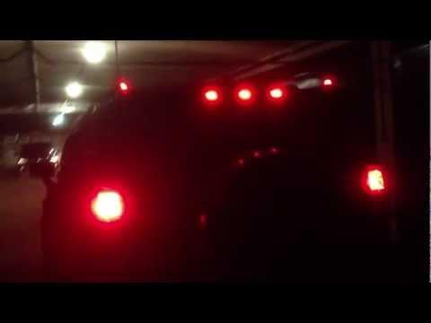 Маркерные лампы Hummer H3