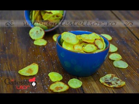 Cum se prepara Chipsurile din Cartofi