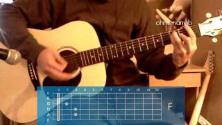 "Cómo tocar ""Fuiste Tu"" de Ricardo Arjona en Guitarra (HD) Tutorial - Christianvib"