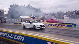Challenger Hellcat vs Audi RS7 | Junio 2017
