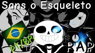 [RAP] Sans o Esqueleto (Rota Genocida) Em Portugues  {Undertale}