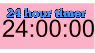 24 Hour Timer 24 Hour Countdown 24 Stunden Countdown Timer 24h timer
