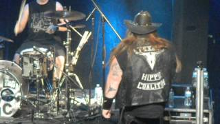 Texas Hippie Coalition-8 Seconds-12th & Porter-Nashville, TN 11-19-2012