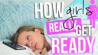 How Girls REALLY Get Ready! Girl Struggles!