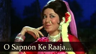 O Sapnon Ke Raaja - Jeetendra - Babita - Ban Phool - Laxmikant Pyarelal - Lata & Mohd. Rafi Duets