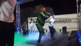 Exit Rockaz perfoming his latest track on the album to come 2018