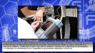 Mf0826_3 Desarrollo De Proyectos De Instalaciones De Telecom - Cursos Online