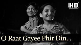 Raat Gayi phir Din - David - Ratan Kumar - Baby Naaz - Boot Polish - Asha - Manna Dey - Hindi Song width=