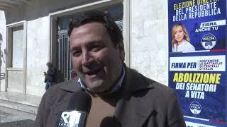 CROTONE: RACCOLTA FIRME DI FRATELLI D'ITALIA