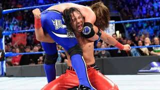"WWE Shinsuke Nakamura AE (Arena Effect) Theme Song ""Shadow Of A Setting Sun"" HD 2018"