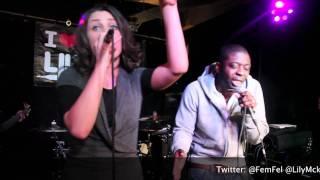 Fem Fel - Runnin - Feat. Lil Mckenzie Live PA (iluvlive)