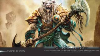 Tiger Blood - Chris Haigh (Epic Orchestral Action Trailer Music) Army Of Angels Unleashed