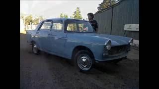 Restauración de Peugeot 404