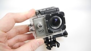 SJ4000 HD Action Camera Review - (2014 Video - Old model - read description)