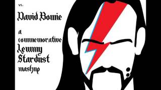 'Ace of Dance' Lemmy Stardust commemorative mashup