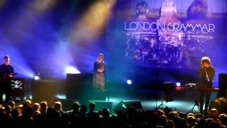 """London Grammar: """"Strong"""" live Transbordeur Lyon 01-03-2014"""