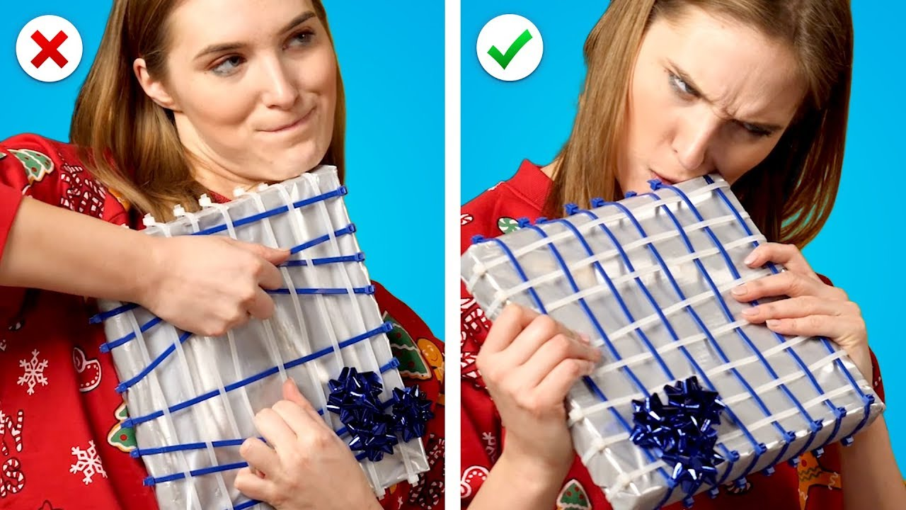 8 Christmas Pranks! Mean Gift Wrapping Ideas