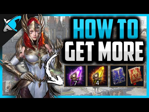 HOW TO GET MORE Sacreds, Voids, Legendary & Epic Tomes...Per Month | RAID: Shadow Legends