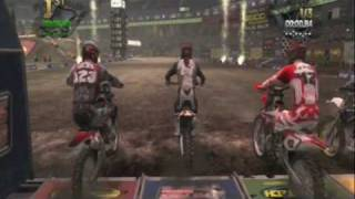 Mx VS Atv Reflex Fort Dodge Round 2 supercross quad triple