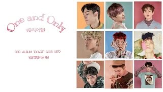 EXO(엑소) - One and Only(유리어항) [HAN|ROM|VIETSUB Color Coded Lyrics]