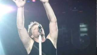 Bon Jovi - In These Arms (David singing) - Montreal - May 4, 2011