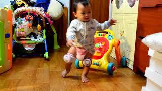 DAEBAK!!! BABY 9 BULAN SUDAH BISA LARI!!!
