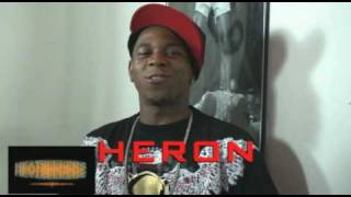 HERON DA DON AT THE UNCLE BLACC VIDEO SHOOT