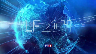 Générique JT 20H WE TF1 Anne-Claire Coudray