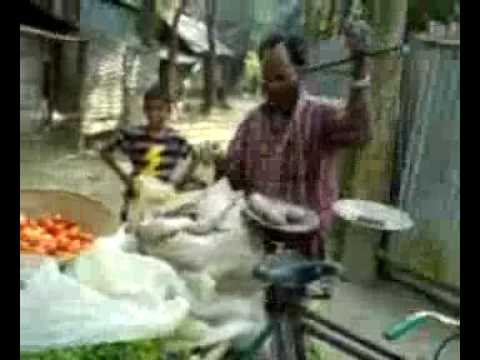 Nahida shopping in Nobo Gram Noakhali Bangladesh