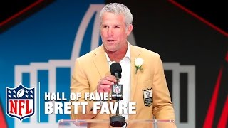 Brett Favre Hall of Fame Speech | 2016 Pro Football Hall of Fame | NFL