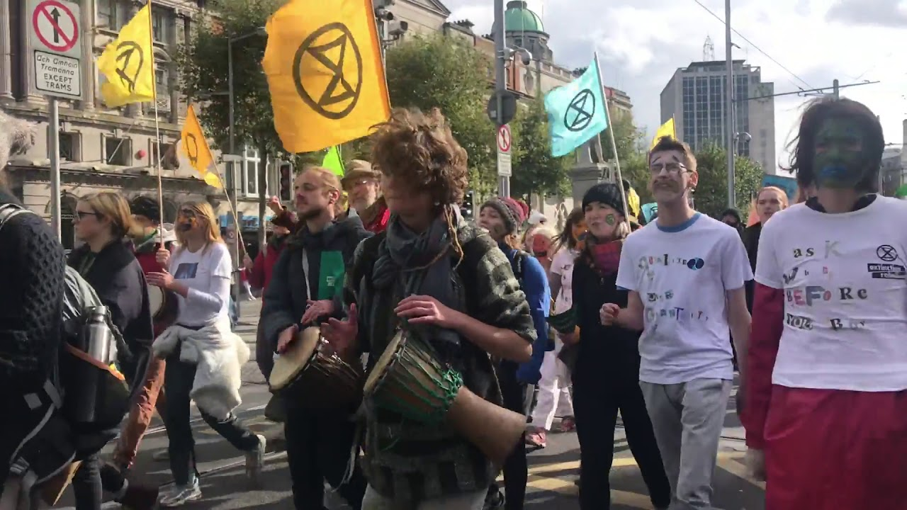 Extinction Rebellion Activists in Penneys, Dublin