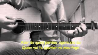 Sua voz, meu Violão. Cantada - Luan Santana. (Karaokê Violão)