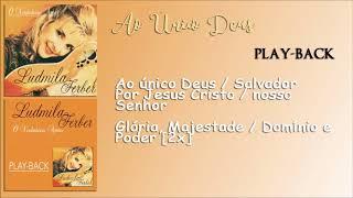"""Ao Único Deus [Playback] Ludmila Ferber - CD """"O Verdadeiro Amor"""" 1998 [HD]"""