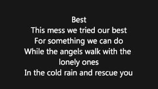 The Temper Trap - Fader lyrics