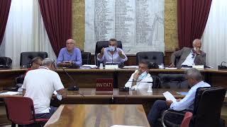 Consiglio Comunale di Marsala del 10/08/2020