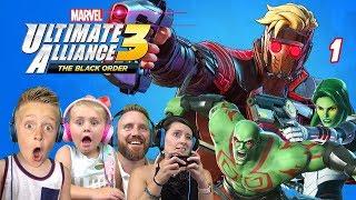 Marvel Ultimate Alliance 3: The Black Order Part 1   KIDCITY GAMING