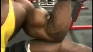 Bodybuilder Crazy Biceps