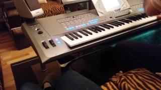 Frank Sinatra My Way Keyboard Cover