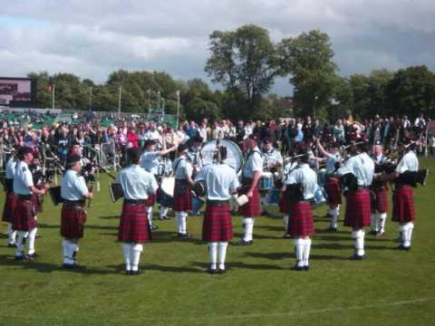Benoni Mactall Pipe Band 2009