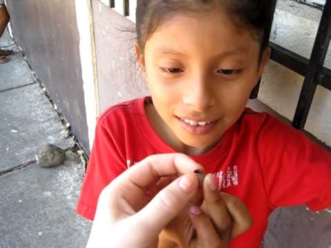 Nicaragua — Rebeca and a Whistle Thing