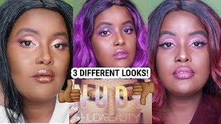 FIRST IMPRESSION: HUDA BEAUTY THE NEW NUDE EYESHADOW PALETTE