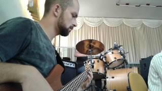 Sobre as Águas - Trazendo a Arca (Contrabaixo, bateria, teclado e violão)
