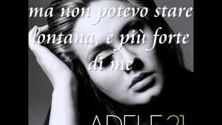 Someone Like You   Adele  Traduzione in italiano.