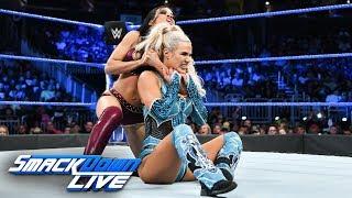 Lana vs. Zelina Vega: SmackDown LIVE, Aug. 7, 2018